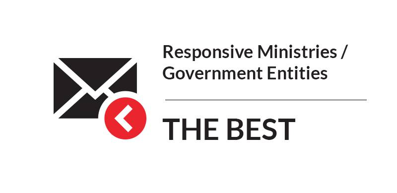 Responsive Ministries/Government Entities - THE BEST