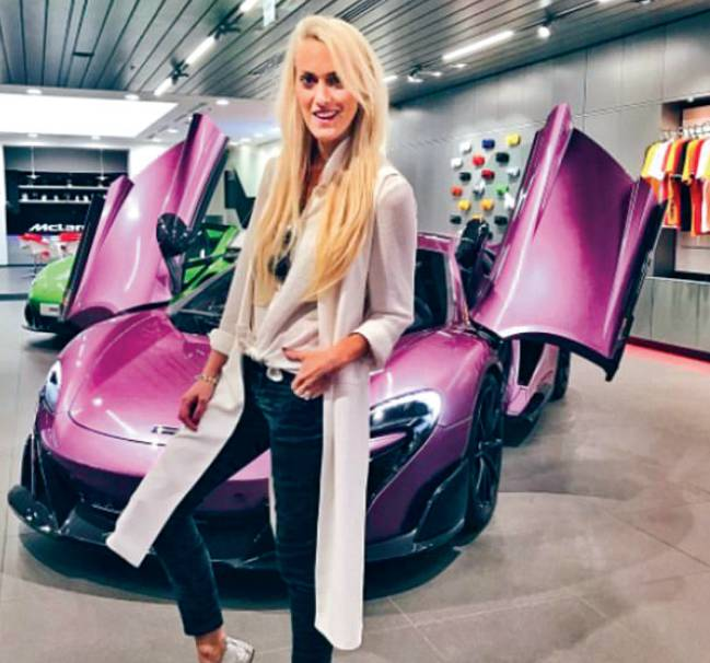 The Female Supercar Driver Whose Instagram Account Is