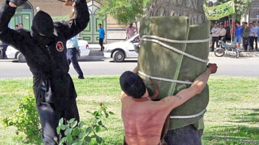 Iran Young Man Flogged 80 Times For Drinking Alcohol As A Child
