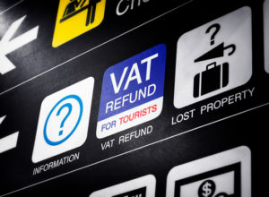 VAT refund desk