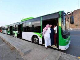 makkah shuttle bus