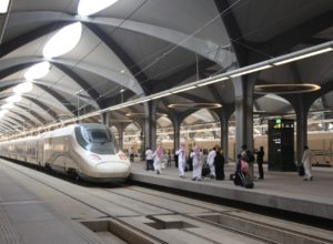 saudi haramain train