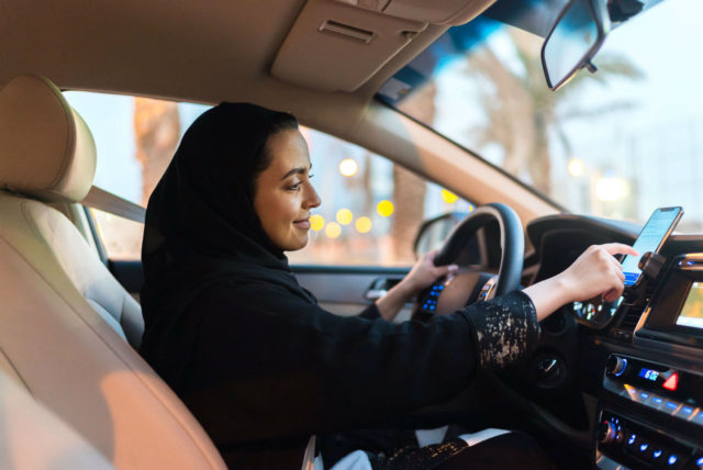 women driving in saudi