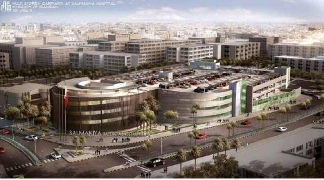 BD 4.5 Million Multi Storey Parking Lot For Salmaniya