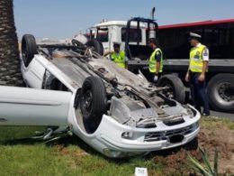 Bahrain: Sleepy Driver Leaves 3 Cars Severely Damaged