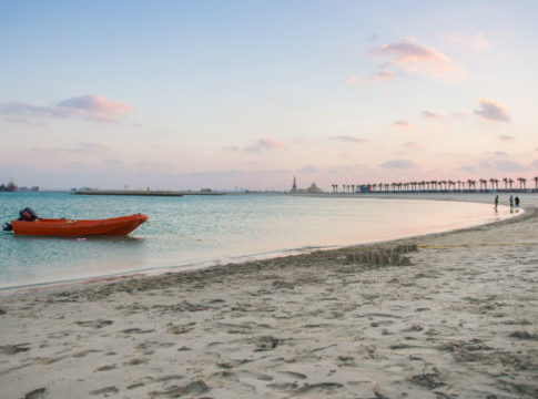 Two Entry Categories For Bahrain's First Rock-Free Beach